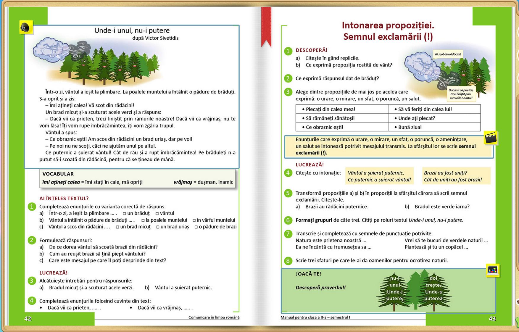 Manual Intuitext - Comunicare in limba romana clasa a II-a
