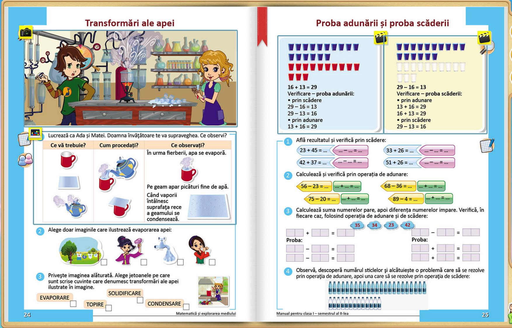 Manual Intuitext - Matematica si explorarea mediului clasa I