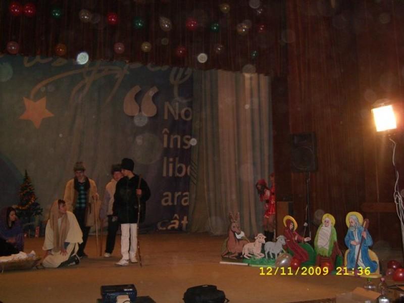 Teatru pe scena ,,Casei de Cultură a Sindicatelor Zimnicea..