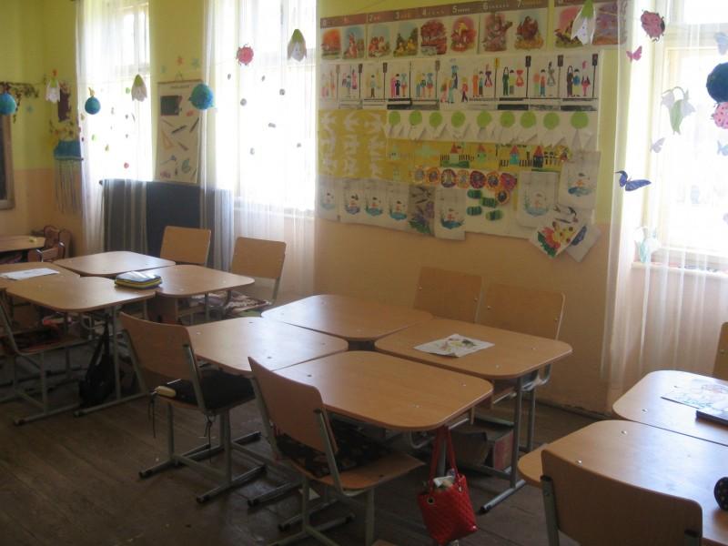 Sala de clasa grupa pregatitoare