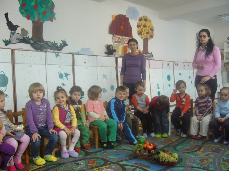 La activitate cu doamna institutor Paula Palanceanu.