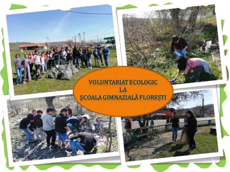 Voluntariat ecologic la Școala Gimnazială Florești