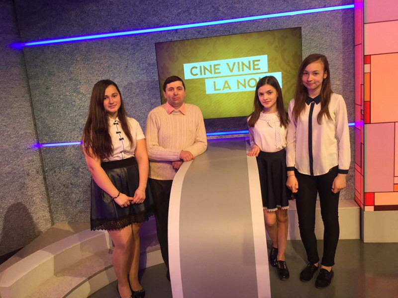 """La TV Moldova 1, emisiunea """"Cine vine la noi"""""""