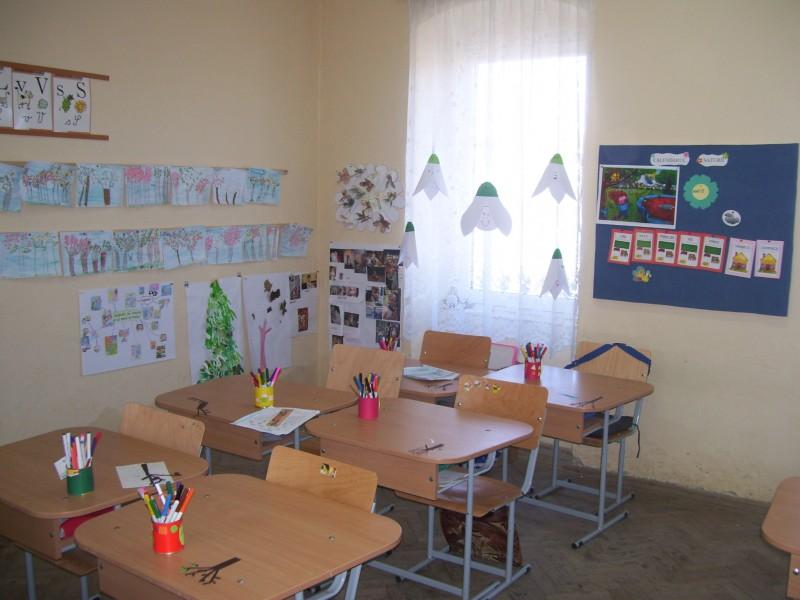 Sala de clasa pregatitoare