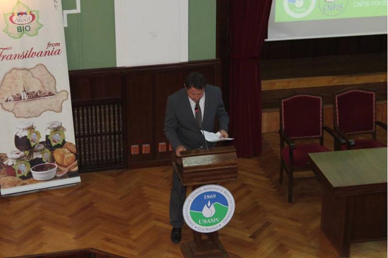 Vizita la USAMV Cluj Napoca si intalnire cu profesorii, precum si cu agenti economici din zona de nord-vest