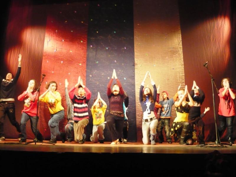 """Spectacol desfasurat la Teatrul """"Al. Davila"""" cu ocazia Zilei Internationale de Solidaritate cu Persoanele cu Disabilitati"""
