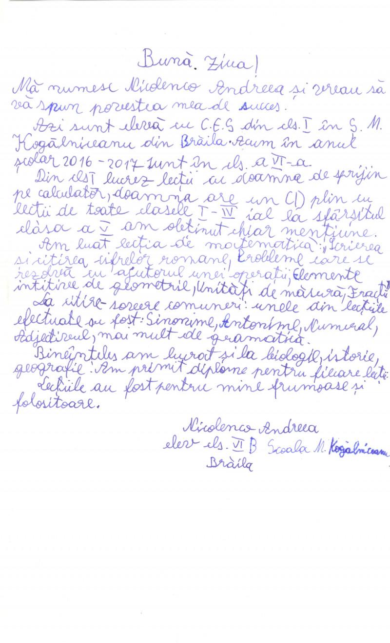 """Proiectul """"Sprijinirea sistemului educaţional special prin portal educaţional dedicat"""""""