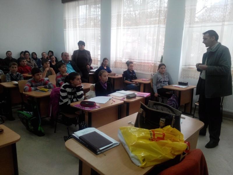 Lectorat cu părinții - Prof. Cicșa  Laora