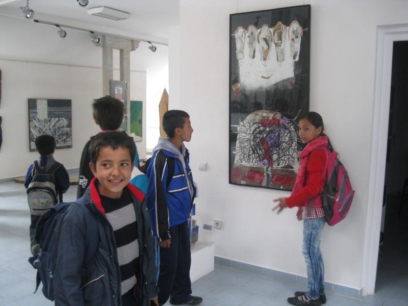 În vizită la muzeul din localitate