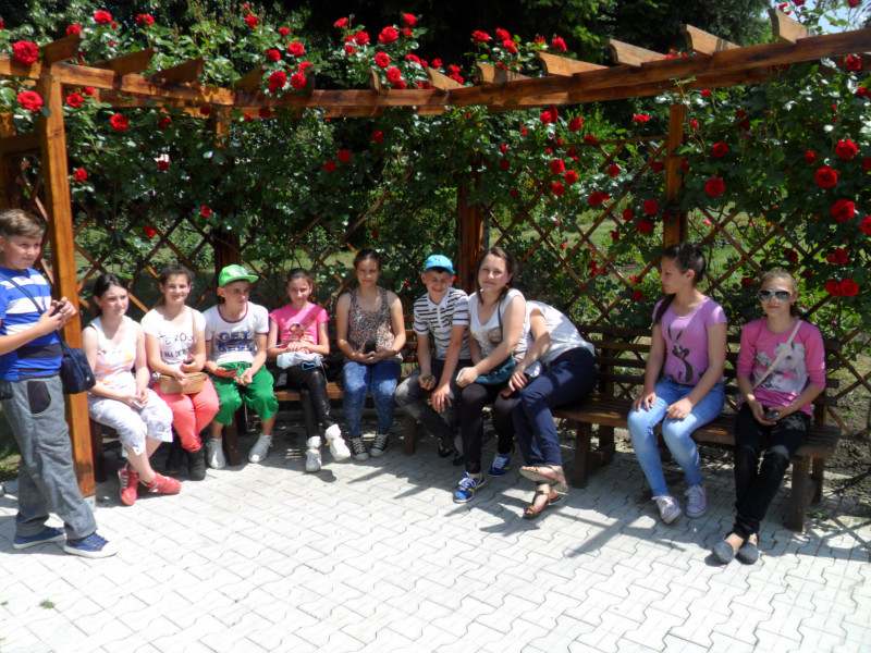 Excursie la Gradina botanica din Iasi