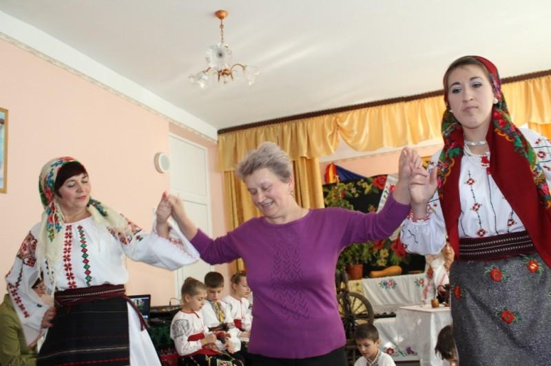 șezătoare  `Ziua bunicuțelor`