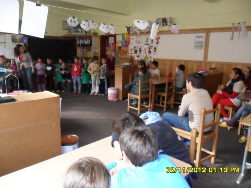 activitate desfasurata de clasa pregatitoare  Step by Step si clasa a IV-a Step by Step
