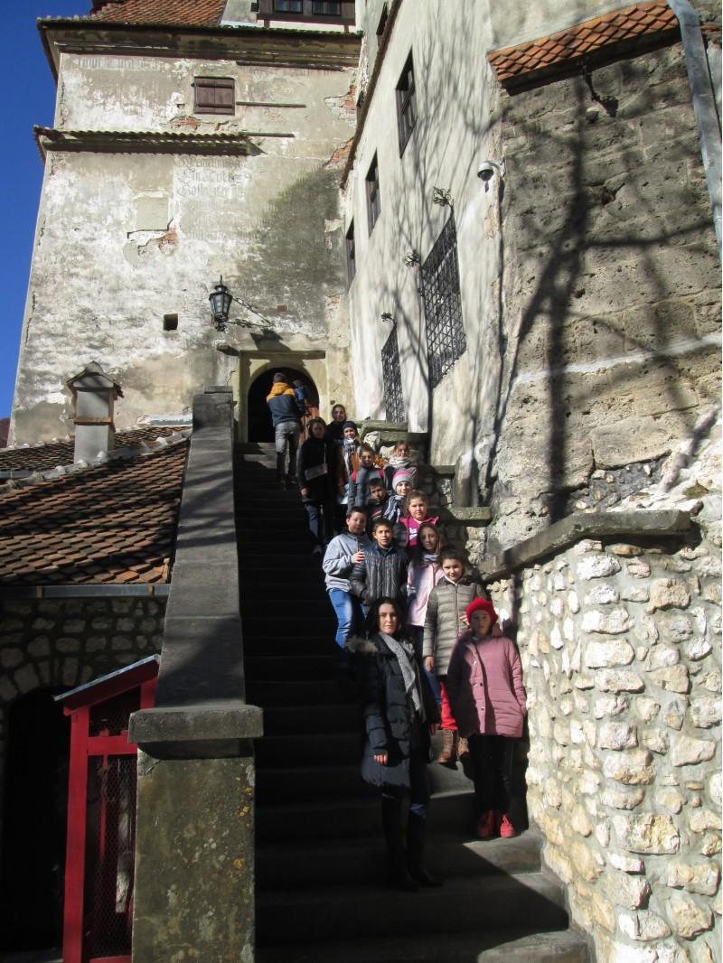 La Castelul Bran