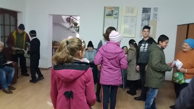 Vizită la Căminul de bătrâni Șișești, județul Mehedinți.