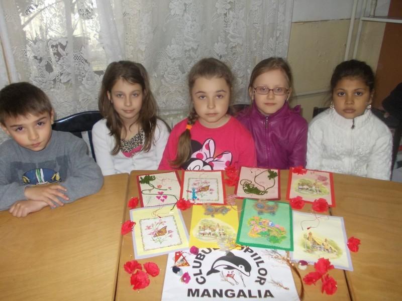 Materiale ilustrative activitate Clubul Copiilor Mangalia