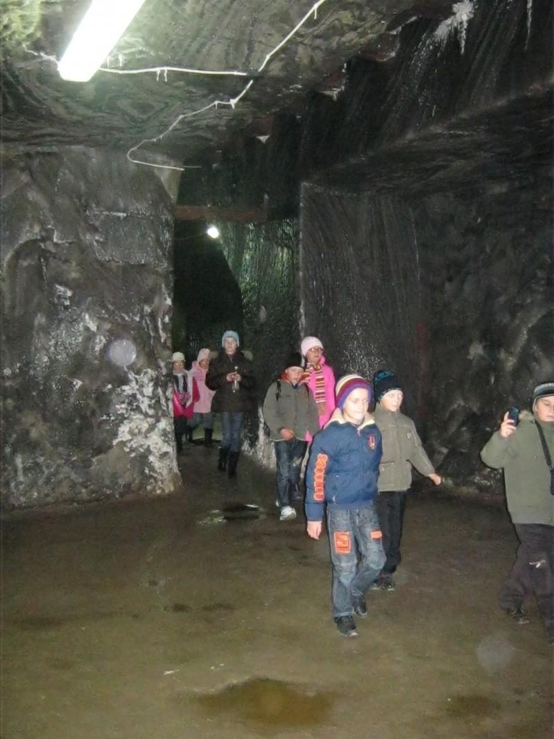 În vizită la salina Turda