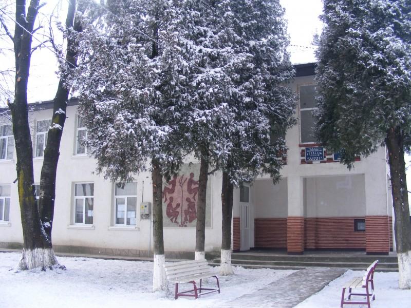 Școala, iarna
