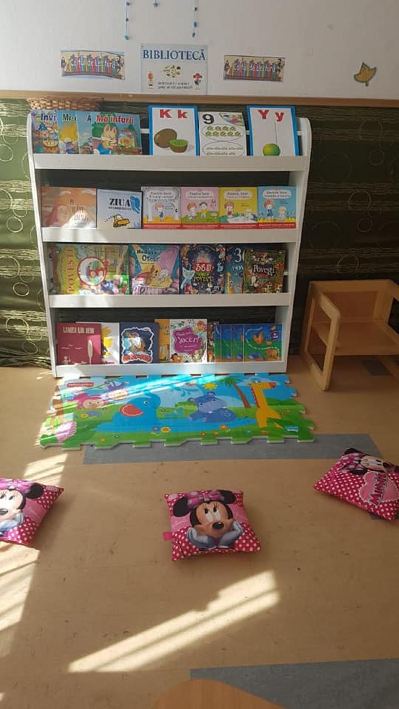 Centrul de lectură_Grupa Steluțelor_Piticot