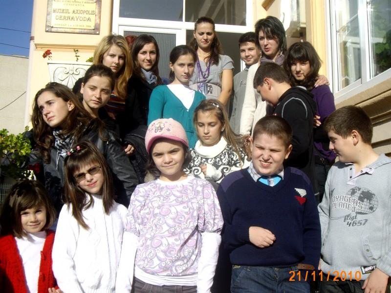 In data de 29 noiembrie 2010 s-au desfasurat vizite  la CNE-PROD si la Muzeul de Istorie Cernavoda. Elevii au fost placut impresionati de informatiile obtinute. Profesori: Nicarel Anca, Duda Monica, Chirea Lenuta
