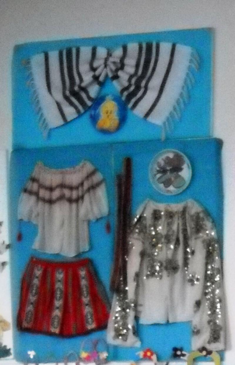 Costum realizat de d-na ed. Ileana Pravat, G.N.P. Nr. 3, Valea Seaca