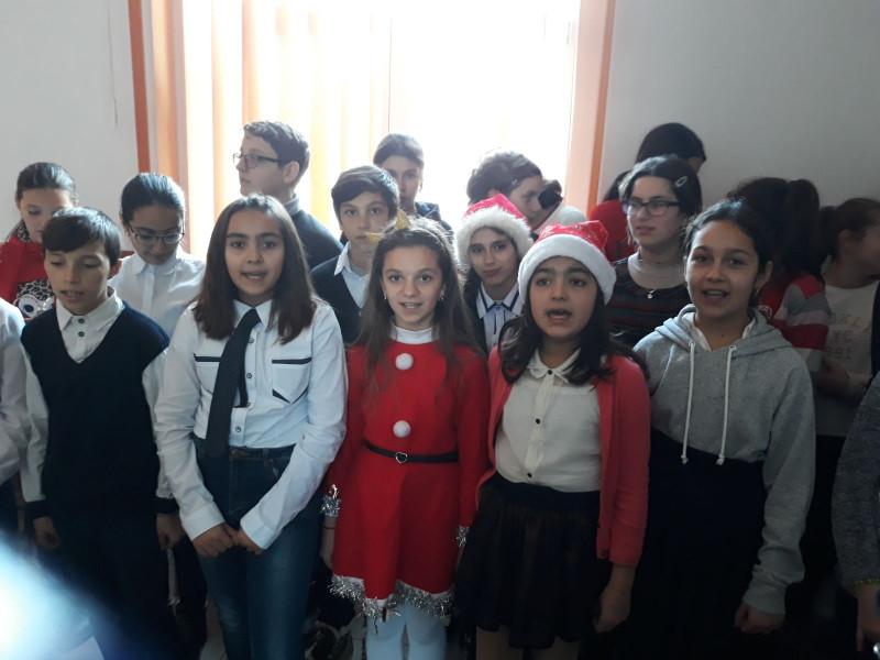 Serbare de Crăciun -Clasa a V-a