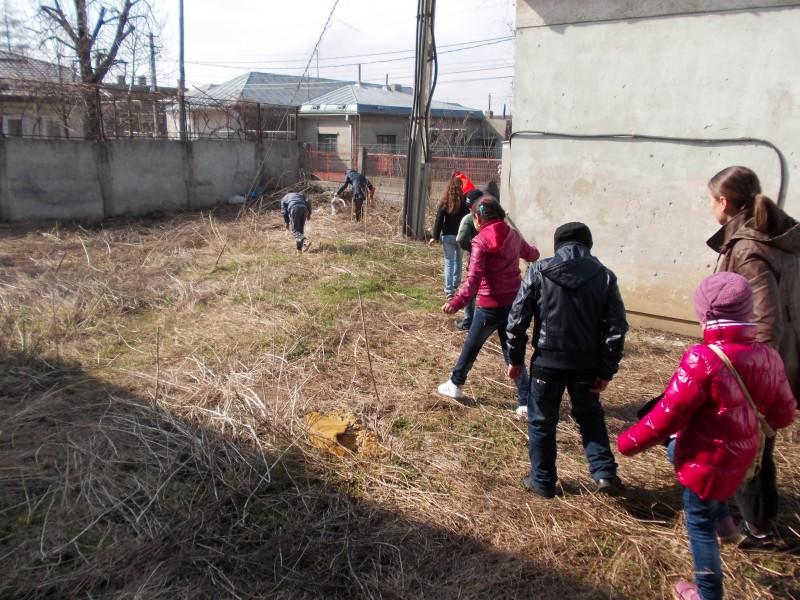 Ilustratiile prezinta activitatile in care au fost implicati elevii de la Scoala Gimnaziala Costache Negri cu ocazia desfasurarii actiunilor de curatenie din spatiul scolii in cadrul activitatilor extrascolare din Saptamana Altfel (1-5 aprilie 2013).