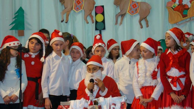 Şc Milcovul, Serbare de Crăciun