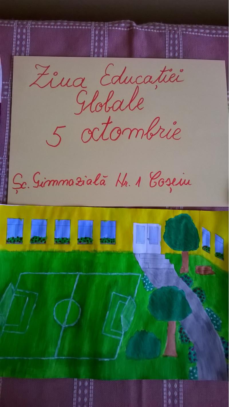 """5 Octombrie - """" Ziua Educatiei"""""""