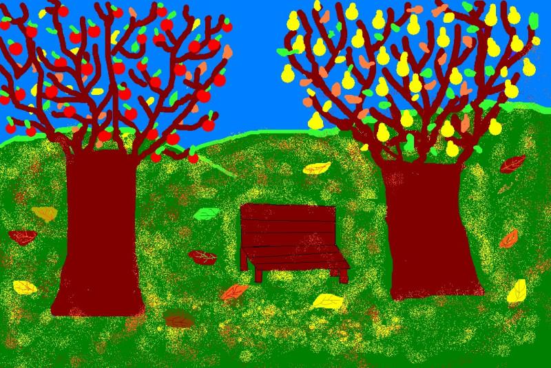 Desen realizat  de eleva Bădescu Bianca