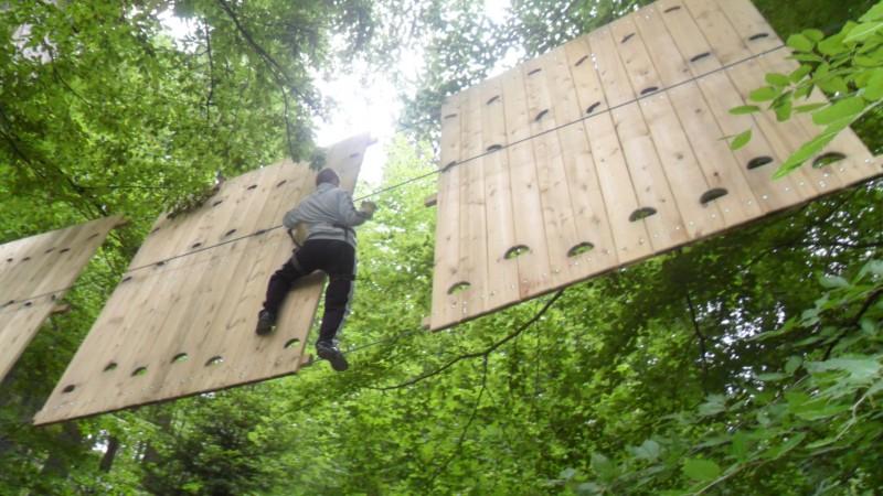 Activitate sportiva in Brasov in Parc Aventura