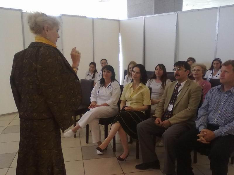 Imagine de la cursurile de formare pentru profesori