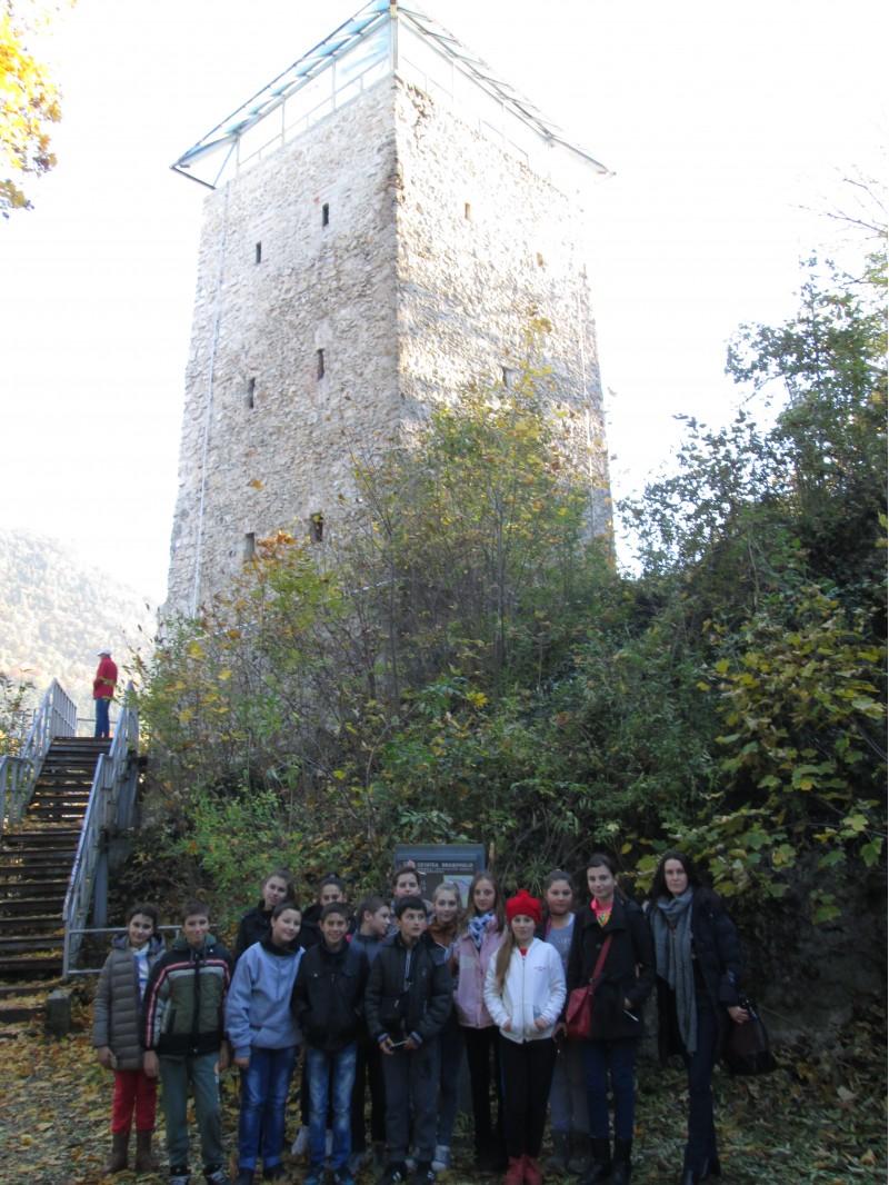La Turnul Negru în Brașov