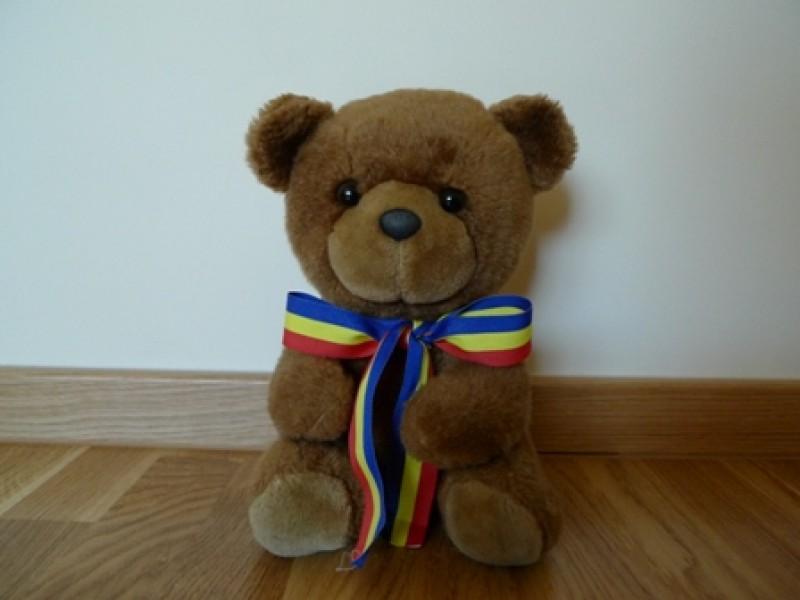 Martinel este reprezentantul ursului brun din Munţii Carpaţi.