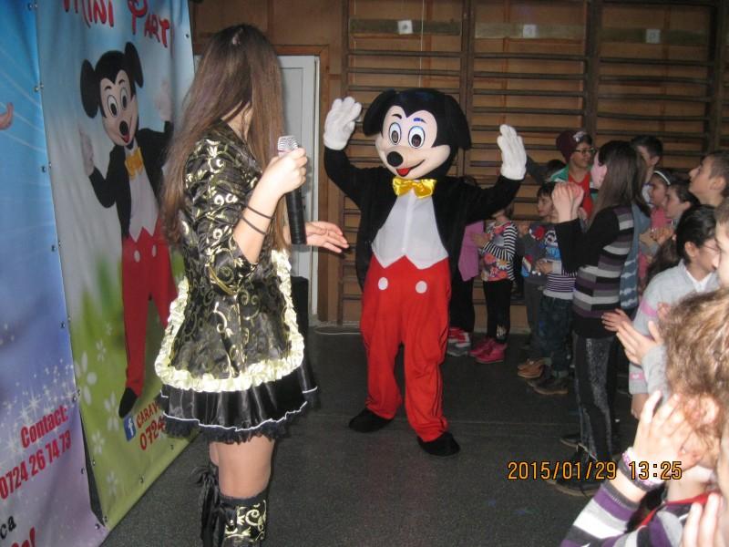 A fost acolo și Mickey Mouse