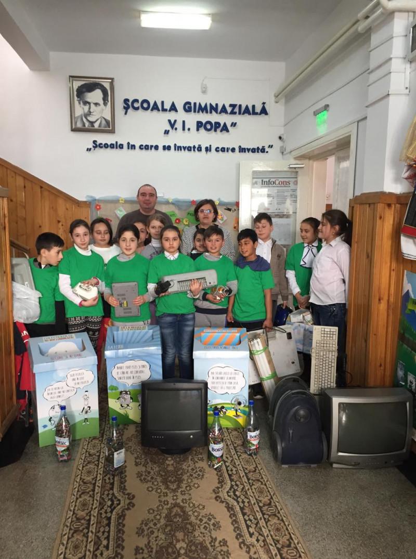 Activitati ecologice desfasurate de elevii scolii noastre in comunitatea in care acestia traiesc.