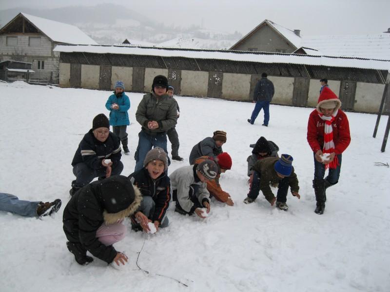 Bucuria zăpezii
