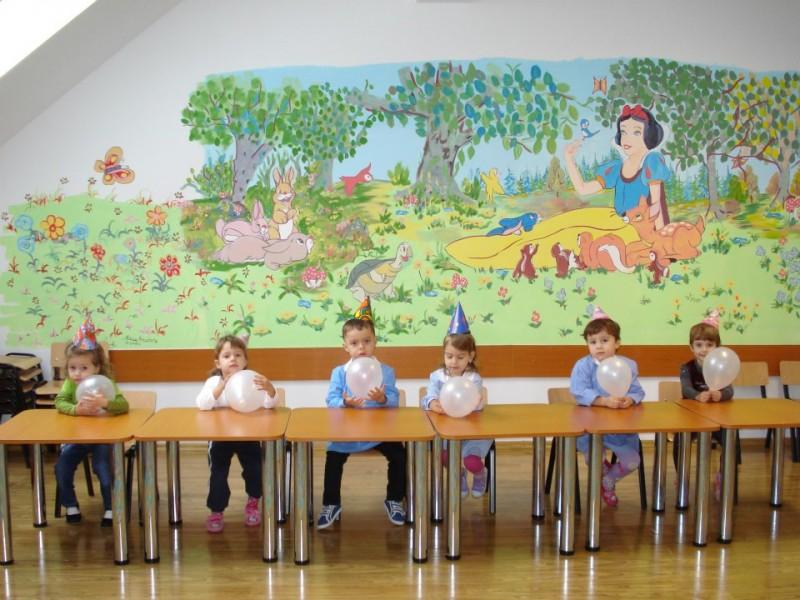 sala de clasa grupa mica