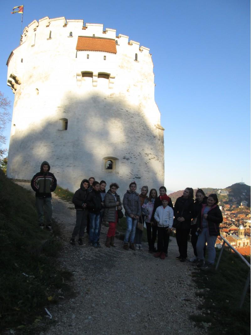 La Turnul Alb din Brasov