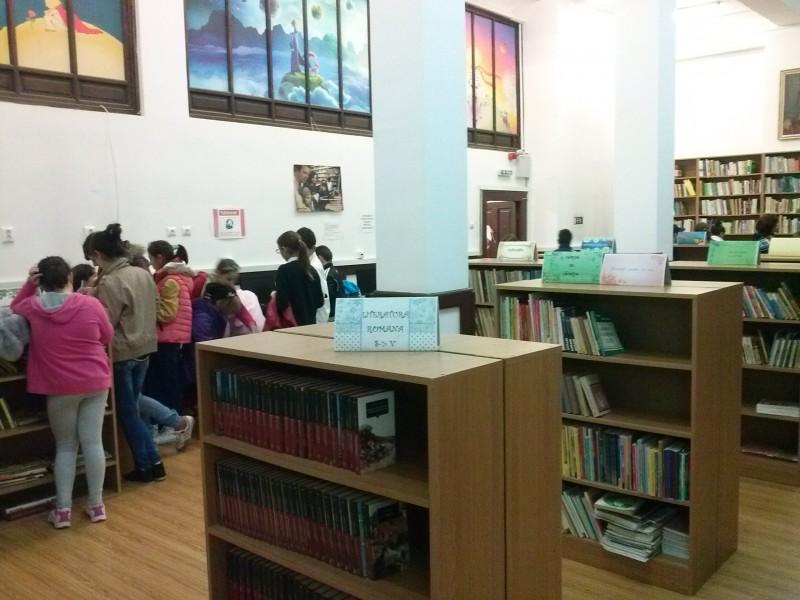 vizita biblioteca