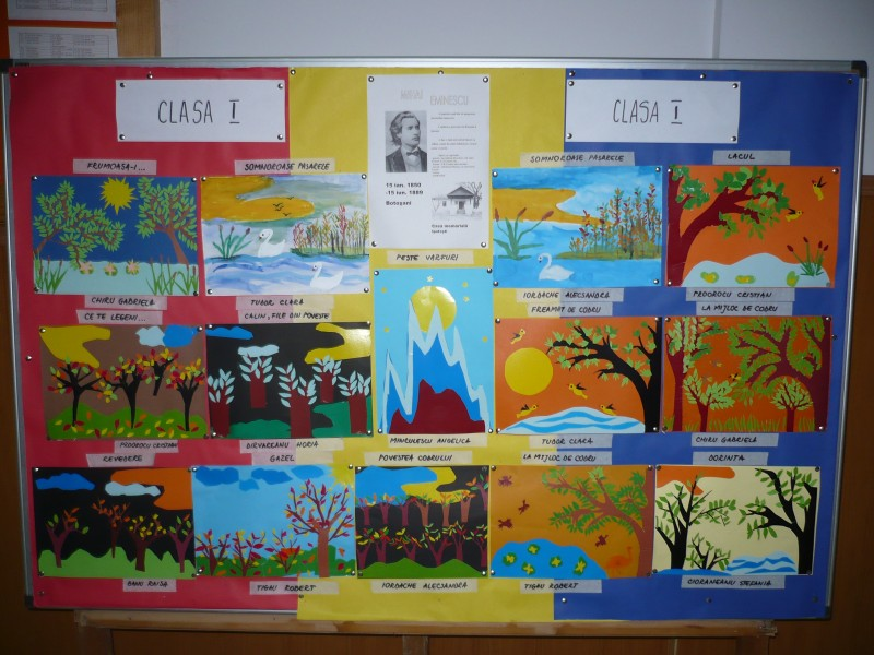 Creatiile elevilor din clasa I