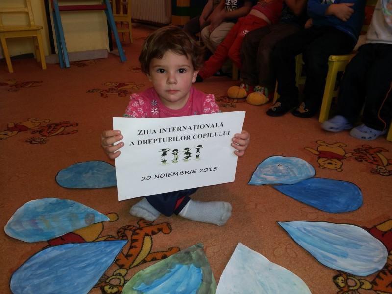 20 noiembrie - Ziua drepturilor copiilor!