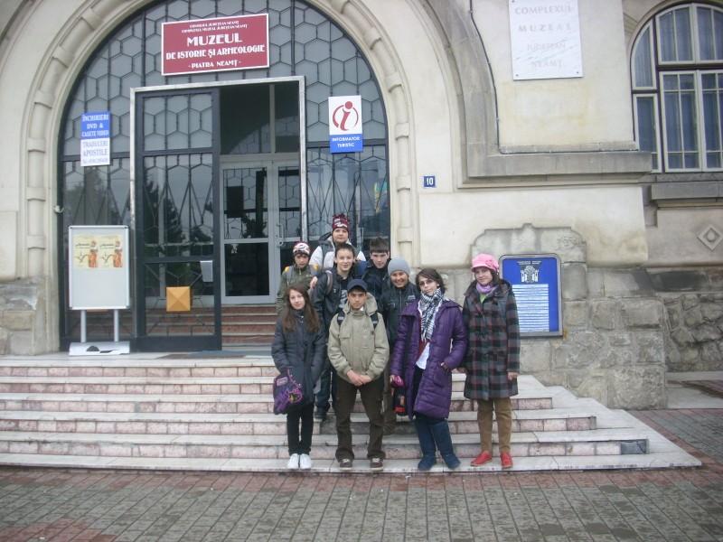 Vizita la Muzeul de isorie Piatra Neamt