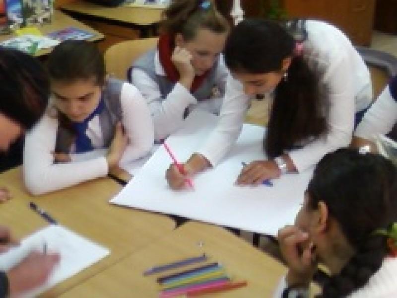O grupa a clasei a VII-a B