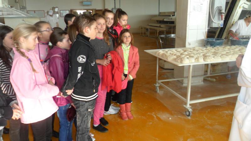 Vizita la fabrica de paine din Suceava