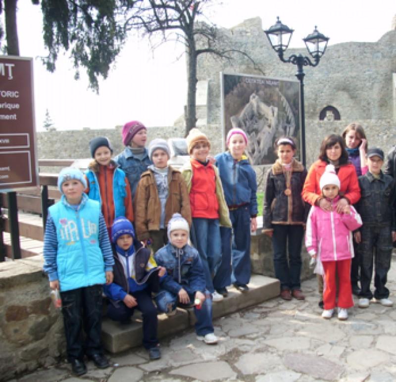 In excursie, zona Targu Neamt.
