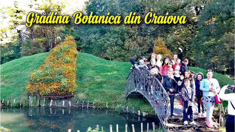 În vizită la Grădina Botanică din Craiova
