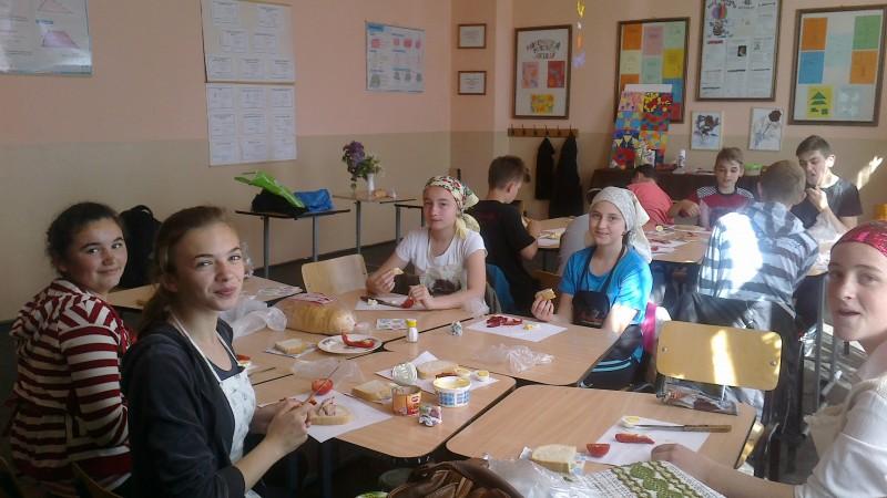 Pregatirea pentru concursul gastronomic