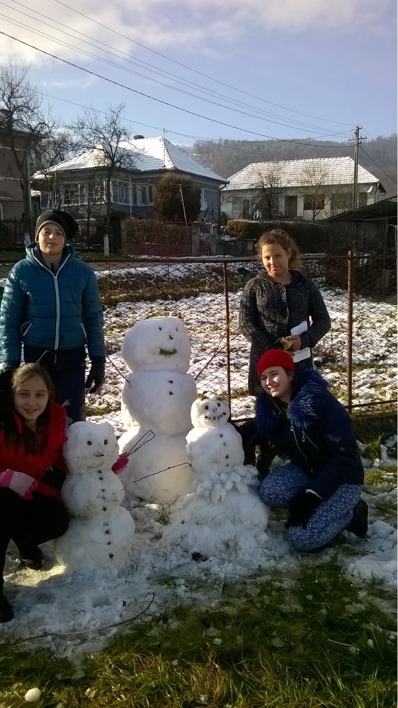 Oameni de zapada - dupa prima ninsoare