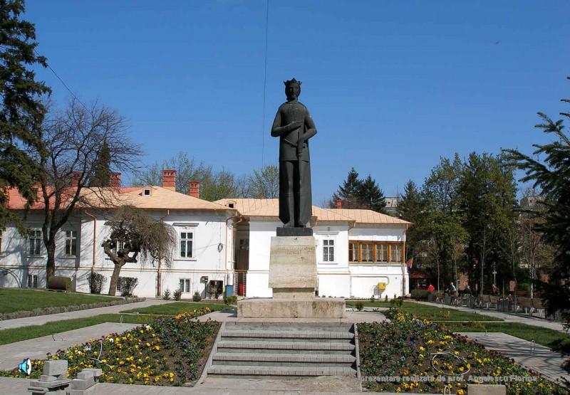 Cladirea Palatului Copiilor din parcul Mircea cel Batran, Ramnicu Valcea
