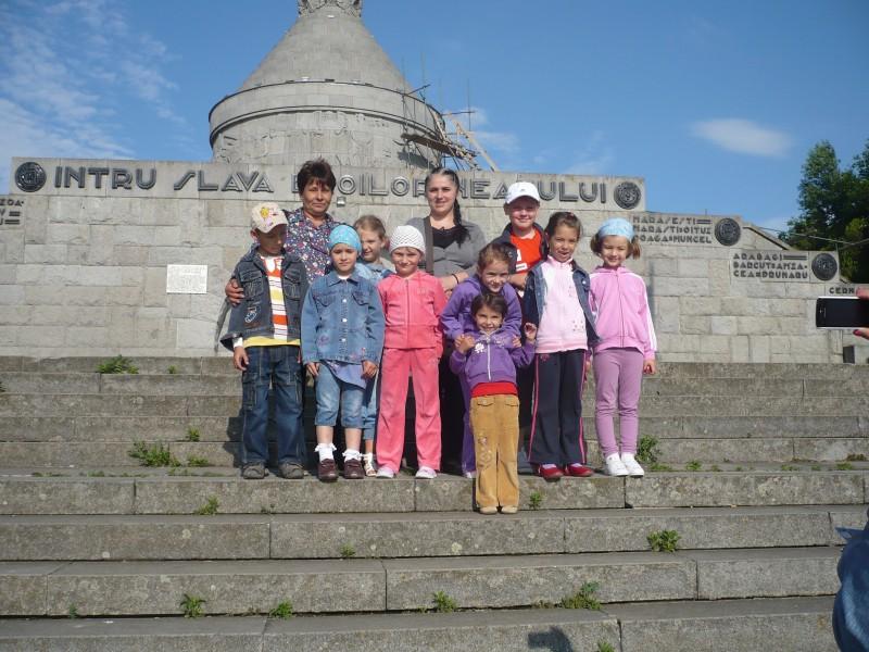 Vizita la Mausoleul Marasesti